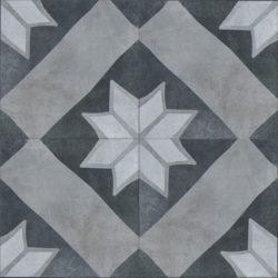 Keramische portugese vintage vloertegels 20,5x20,5 type 12