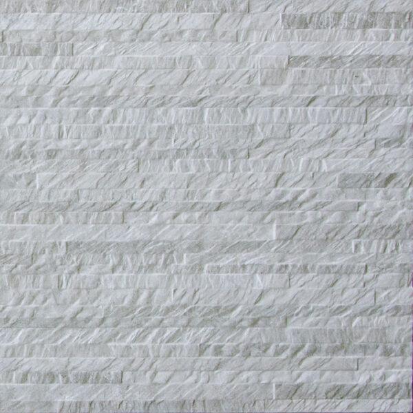 Keramische steenstrips decor tegels 120 x 40 cm beige