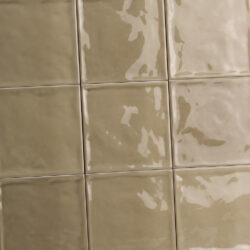 Handvorm tegels 15 x 15 cm mokka