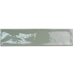 Handvorm tegels 7,5 x 30 cm groen