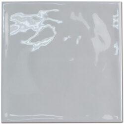 Handvorm tegels 15 x 15 cm licht grijs