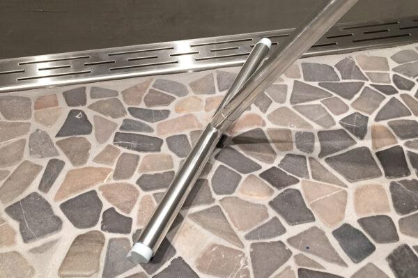 Luxe design douche vloerwisser met safety grip