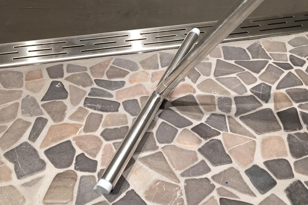Luxe design douche vloerwisser douchetrekker met safety grip