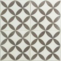 Portugese cement tegels 20x20 grijs type 01