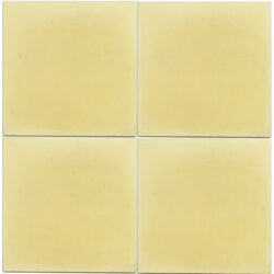Portugese cement tegels 20x20 uni kleur geel type 27