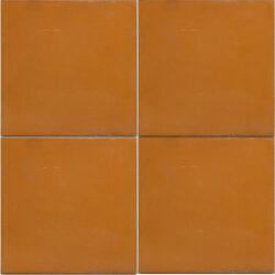 Uni kleur portugese cement tegels 20x20 terra cotta type 33