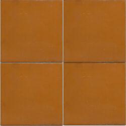 Uni kleur portugese cement tegels 20x20 terra cotta type 35