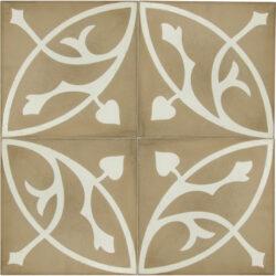 Portugese cement tegels 20x20 bloem type 58