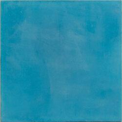 Portugese cement tegels 20x20 uni blauw type 57