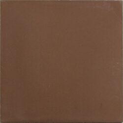Portugese cement tegels 20x20 uni bruin type 64
