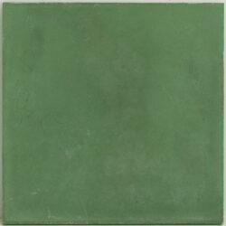 Portugese cement tegels 20x20 uni groen type 52