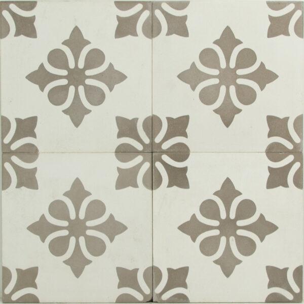 Portugese cement tegels 20x20 bloem type 94