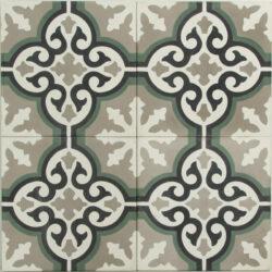 Portugese cement tegels 20x20 bloem type 98