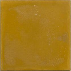 Portugese cement tegels 20x20 uni oker geel type 90