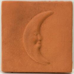 Portugese / Marokkaanse Decor cotto tegels met maan