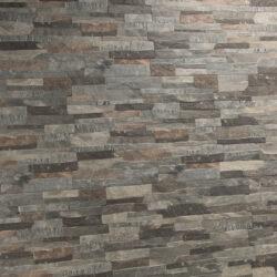 Steenstrips LLorene gris interlock aardetinten grijs