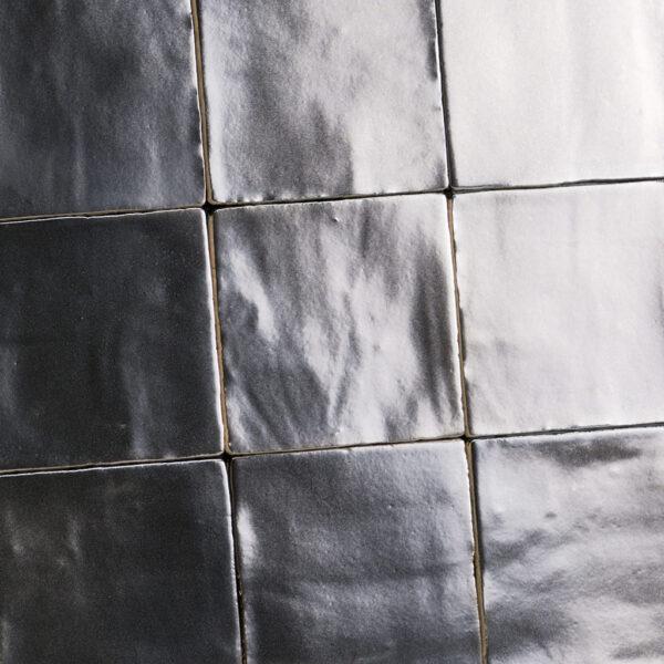 Platinum Metallic handvorm tegels 13x13