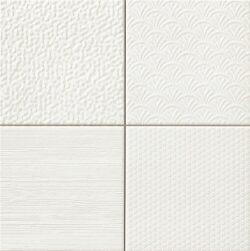 Wandtegels wit Glint blanco 44,2 x 44,2 cm