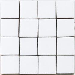Handvorm mozaiek tegels cobalt blauw 5x5 cm