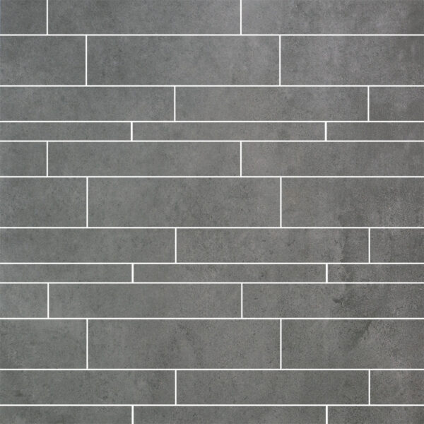 Strokenmix tegels 5, 10 en 15x60 betonlook Europe Ash Grey anti slip R10