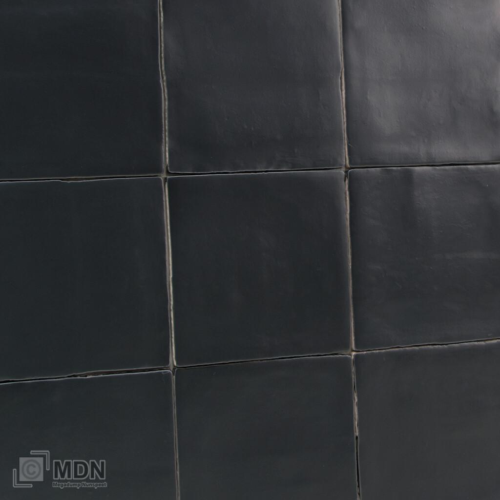 Handvorm Tegels Mat Zwart 13x13 Oud Hollands Megadump