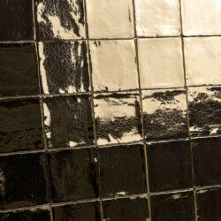 Gouden handvorm tegels 10x10 cm