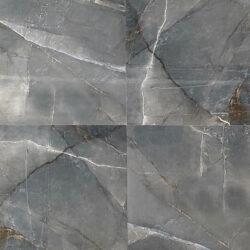Gepolijste vloertegels 60x60 natuursteen look blauw