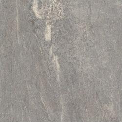 Gerectificeerde grijze natuursteen look vloertegels Fume 60x60